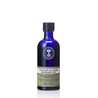 Geranium And Orange Massage Oil