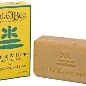 The Naked Bee 140g Oatmeal & Honey Triple Milled Soap image