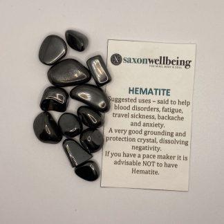 Saxon Wellbeing Hematite
