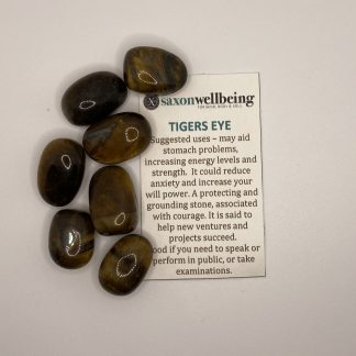 Tiger's Eye Tumblestone Crystal