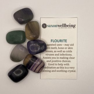 Saxon Wellbeing Flourite