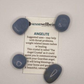 Saxon Wellbeing Angelite