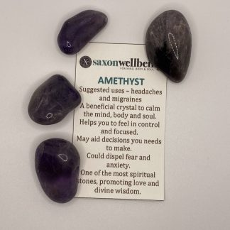 Saxon Wellbeing Amethyst