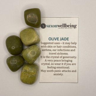 Saxon Wellbeing Olive Jade