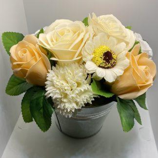 Peach Soap Bouquet
