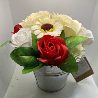 Red Soap Bouquet