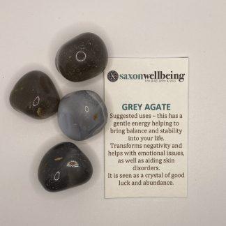 Saxon Wellbeing Grey Agate