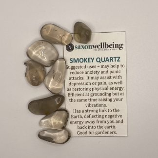Smokey Quartz Tumblestone Crystal
