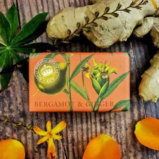 Kew Gardens Bergamot Ginger Soap