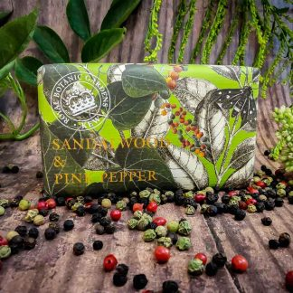 Kew Gardens Sandalwood Pink Pepper Soap