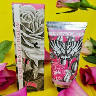 Kew Gardens Summer Rose Hand Cream