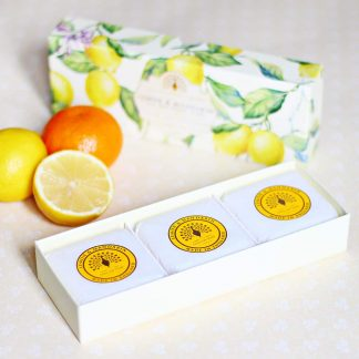 Lemon Mandarin Gift Box Soap