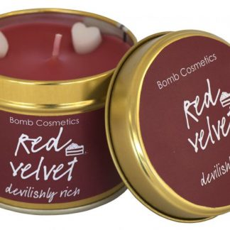 Red Velvet Candle