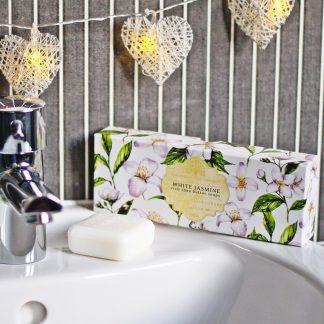 White Jasmine Gift Box Soap